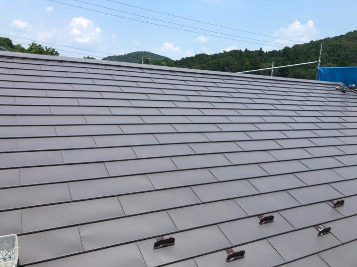 富加町 屋根金属カバー工事 天窓撤去工事