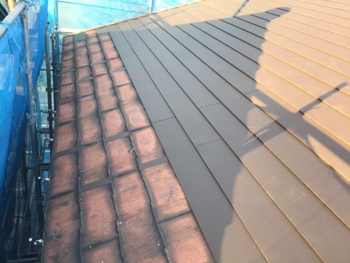 屋根シーガードカバー工法