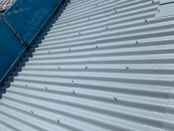 倉庫 屋根塗装