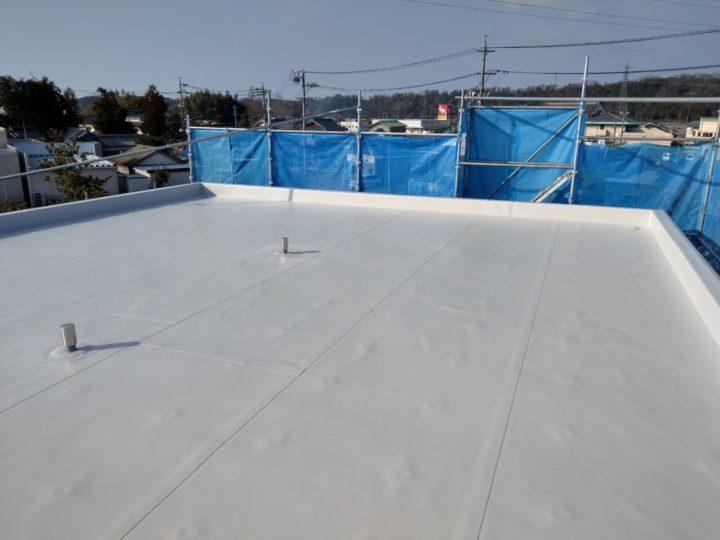 屋根、ベランダ防水工事