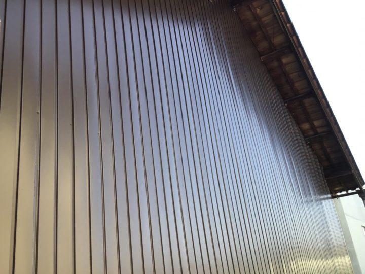 岐阜市 O様邸 ご近所さんがお家の工事をするのでご挨拶に来ていただいたので、その時に外壁が錆びているので工事したいと相談してみました。