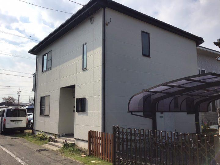 岐阜市N様 イベント来店のお客様。お家の劣化診断の結果、屋根と外壁の塗装工事をすることになりました。
