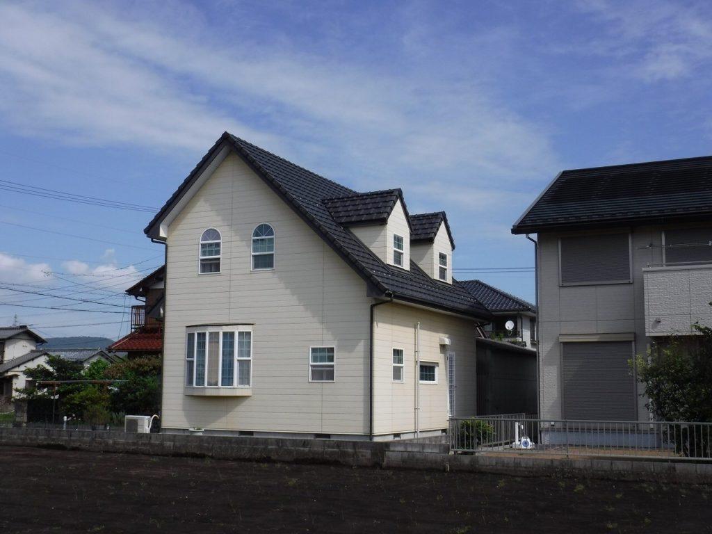 岐阜 の 外壁塗装 屋根事例