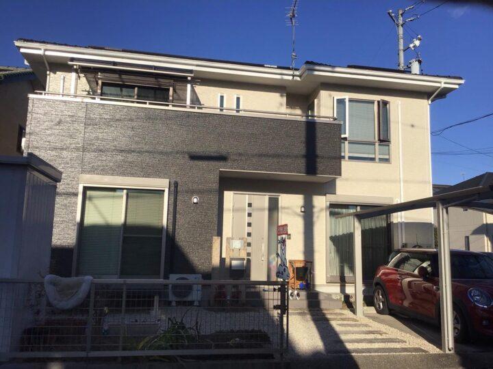 美濃加茂市M様 最初のきっかけは窓サッシ周りのコーキングの穴あきをサービスで直してもらったことでした。