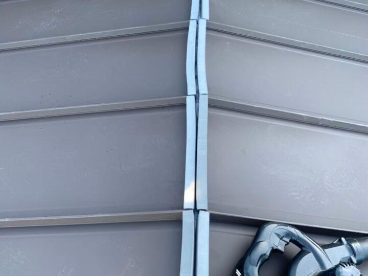 新規屋根材新設