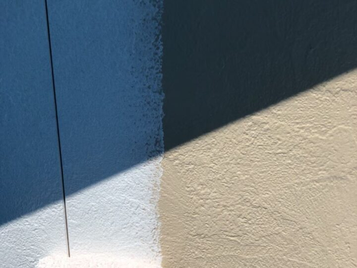 外壁下塗り②