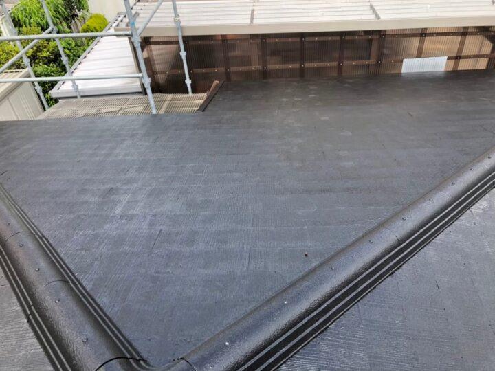 岐阜市K様 実は屋根の塗装工事はする気はなかったのですが、火災保険が適応されると教えてもらい、それが決め手で決めました。